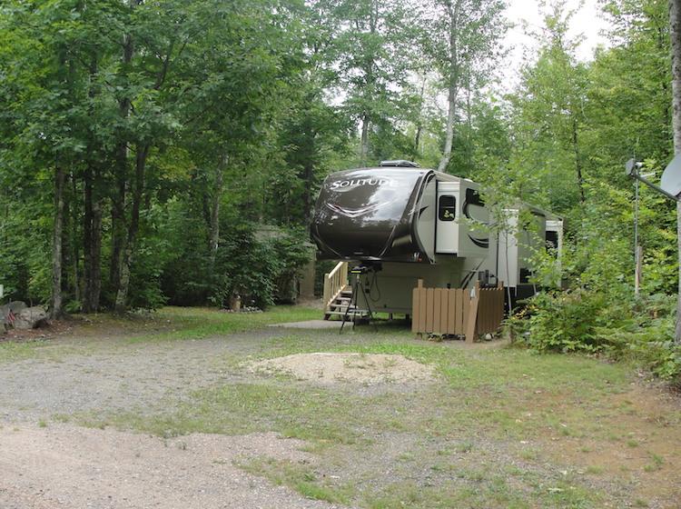 Seasonal RV & Camper Sites